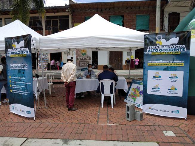 En Riosucio se realizó la Feria de Servicios de la Gobernación de Caldas - Noticias de Colombia