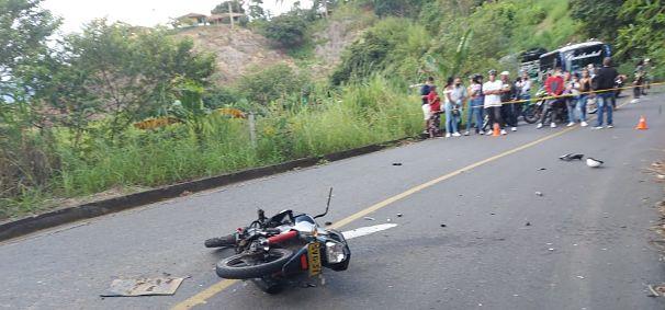 En vías de San José un motociclista perdió la vida - Noticias de Colombia